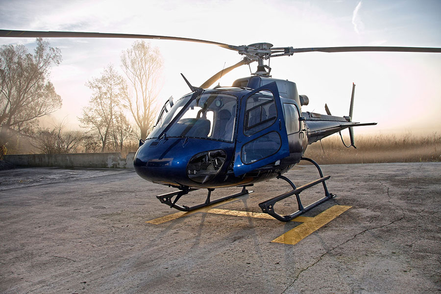 fotografie aeree Lecco Ecureuil AS350