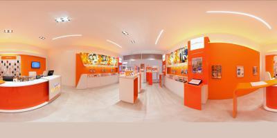Tour virtuale negozi Wind